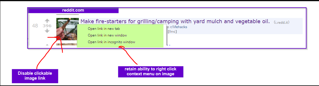 Option to prevent markdown images from being clickable - 🌟Features